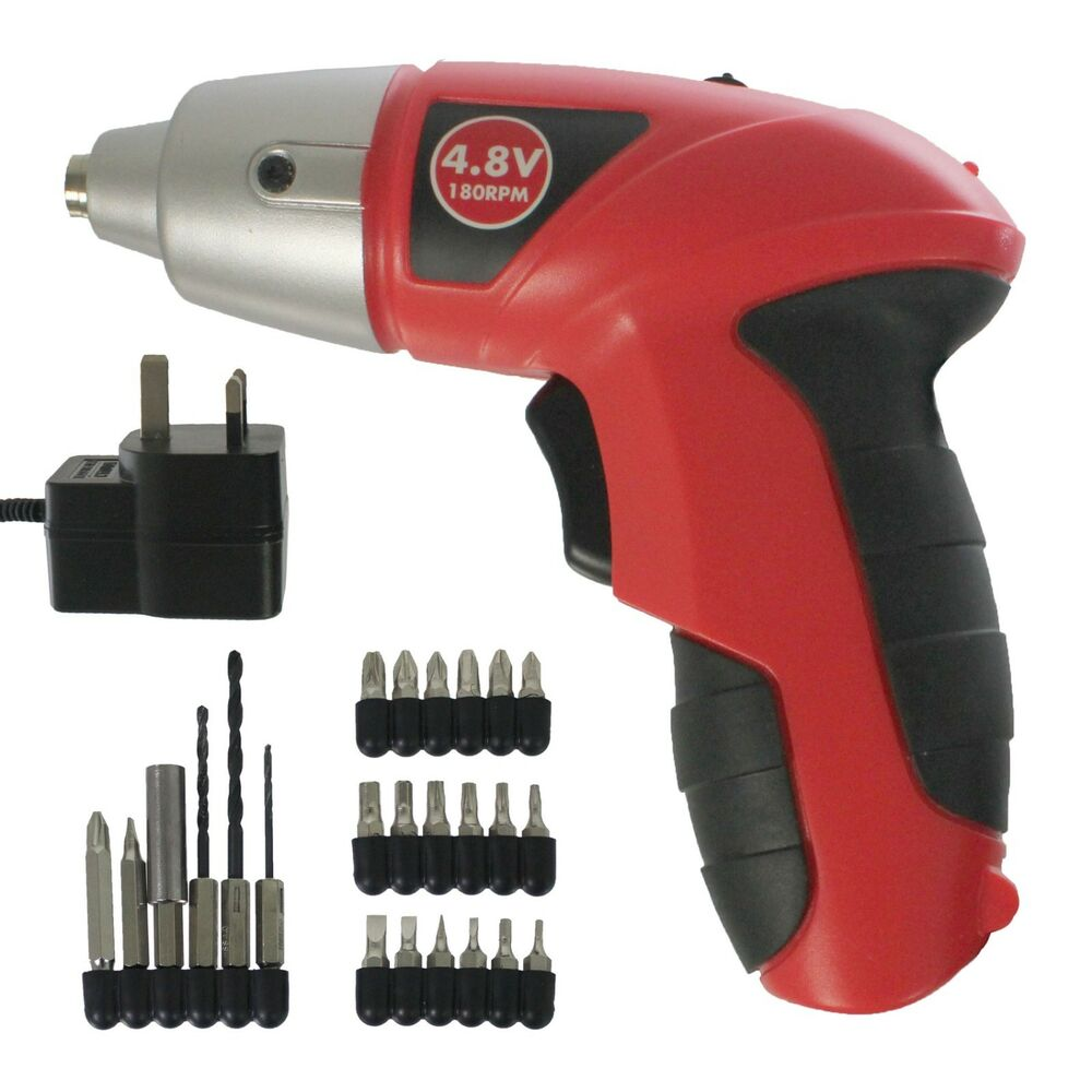 Image result for Mini Cordless Electric Screwdriver Drill Tool Bits